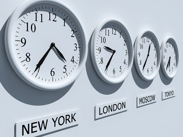 A Workforce All Over the World – The Challenge of Time Zones